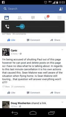 Sean updates
