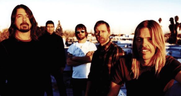 Foo Fighters photo credit Steve Gullick