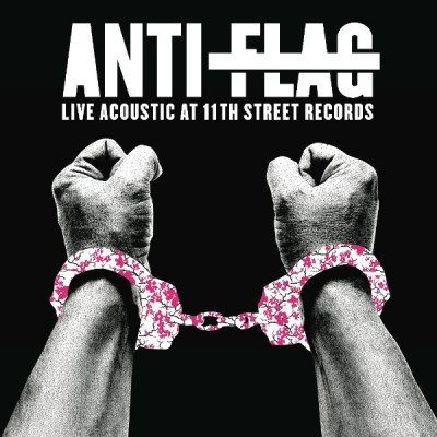 anti flag live acoustic at 11th street records