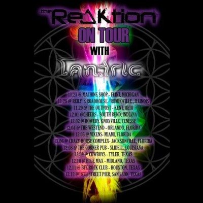 the reaktion tantric us tour 2015