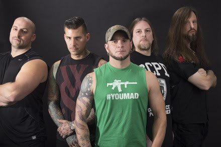 All That Remains band 2015