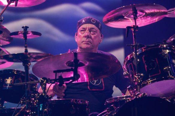 Neil Peart of Rush, Photo credit Matt Hayward
