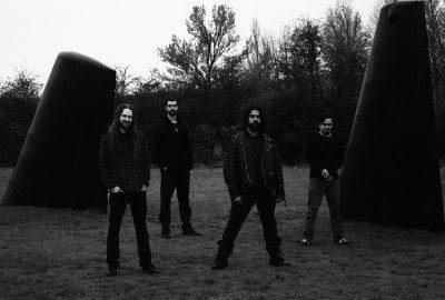 L-R - Gabe Tachell - Guitar/Vocals, James Porter - Bass, Carlos Delgado - Drums, Alex Smolin - Guitar - Photo Credit: Megan Treasure