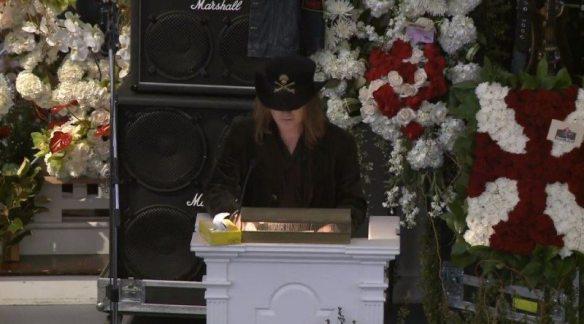 Paul Inder Lemmy's son Eulogizes Lemmy