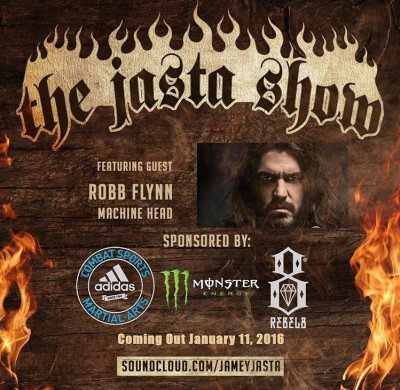 Robb Flynn on Jasta show