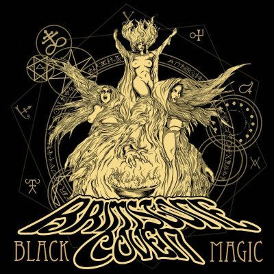 Brimstone Coven Black Magic Album cover