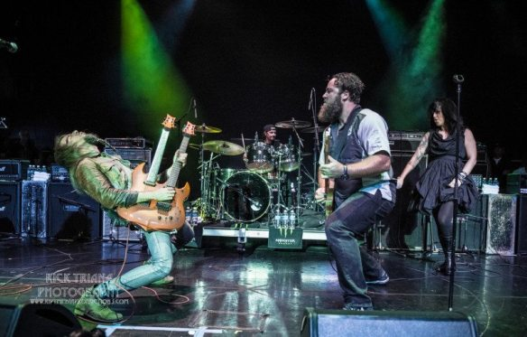 The Stowaways at ShipRocked, by Rick Triana