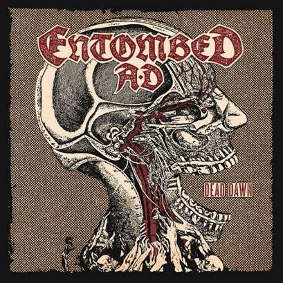 Entombed AD Dead Dawn album cover ghostcultmag