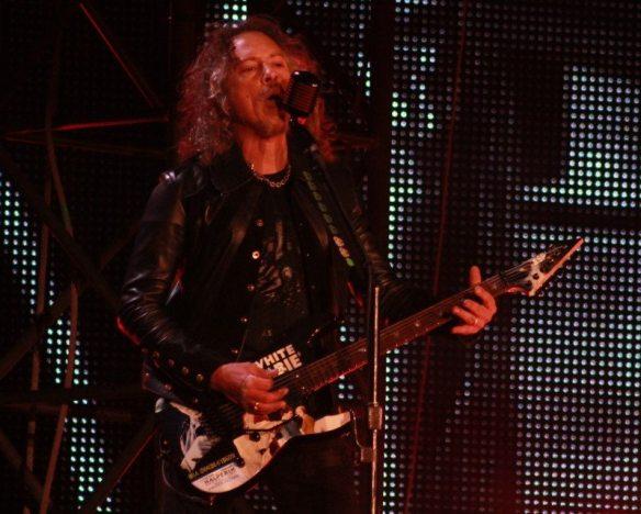 Kirk Hammett of Metallica,, by Victoria Anderson ghostcultmag