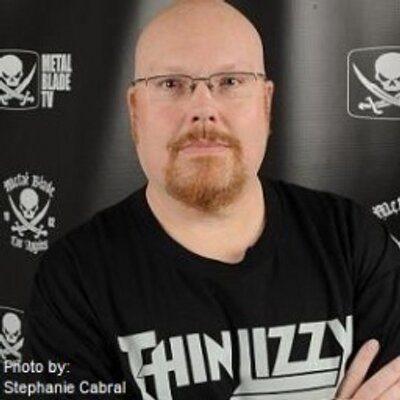 Brian Slagel of Metal Blade Records, photo credit Stephanie Cabral
