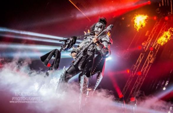 Gene Simmons of KISS, by Rick Triana Photography