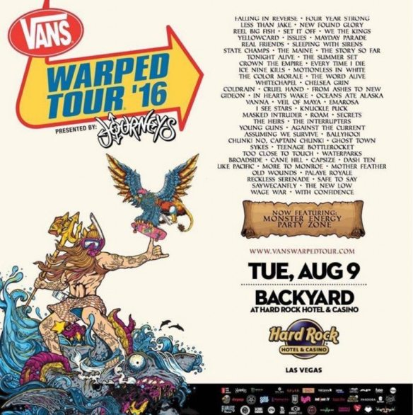 Leaked Warped Tour admat
