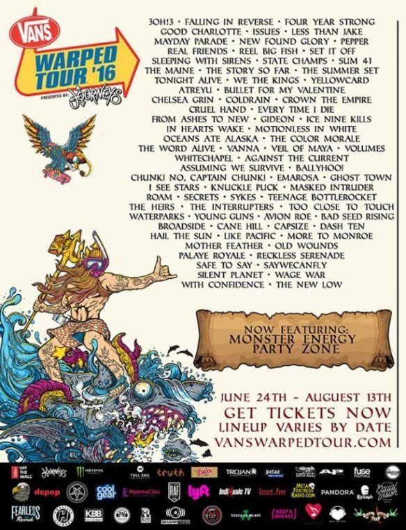 2016-vans-warped-tour-full-lineup