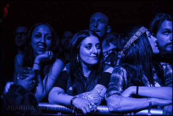 The crowd Electric Wizard, by Jessica Lotti Photography