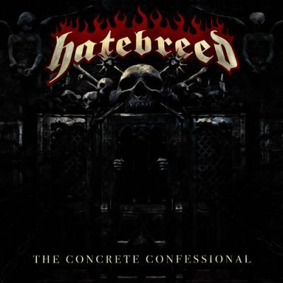 Hatebreed - The Concrete Confessional album cover ghost cult mag