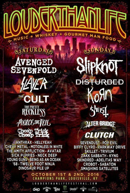 Louder than Life Festival 2016 ghostcultmag