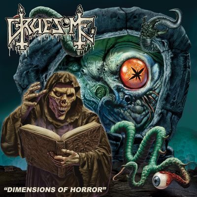 Gruesome - Dimensions of Horror album cover ghost cultmag
