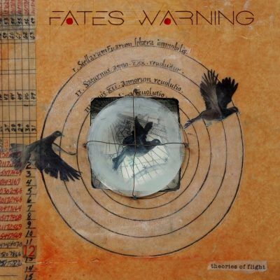 Fates Warning- Theories Of Flight album cover ghostcultmagazine