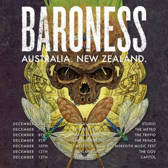 Baroness Australia And New Zealand tour 2016 ghostcultmag