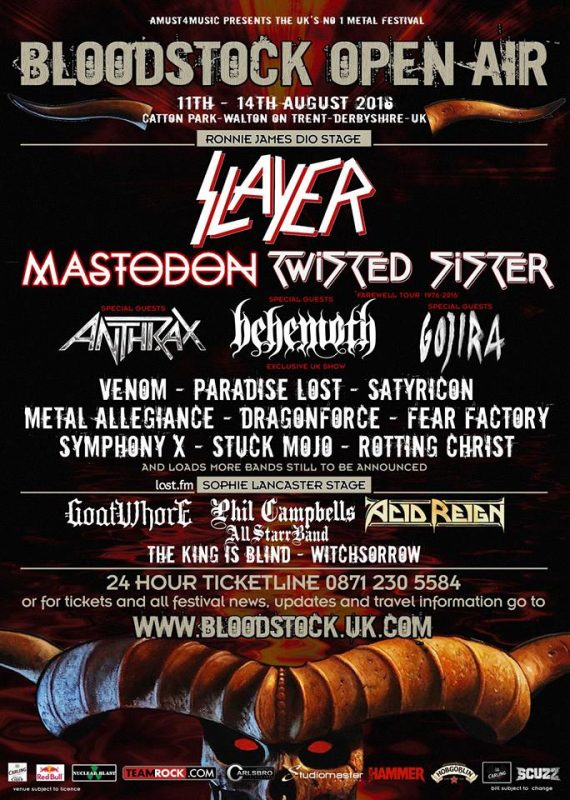 Bloodstock Open Air 2016 ghostcultmag