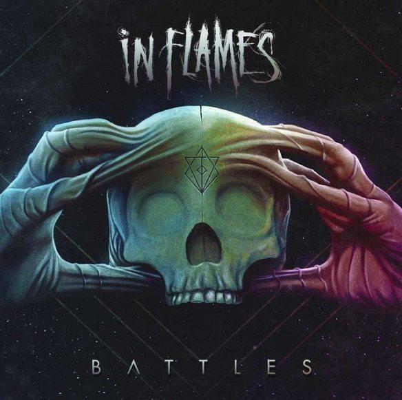 In Flames Battles album cover ghostcultmag