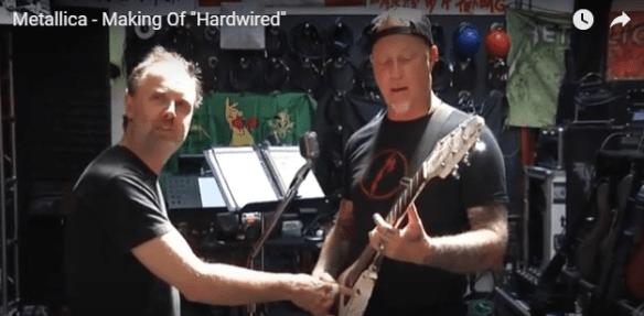 Metallica Hardwired behind the scenes still image ghostcultmag