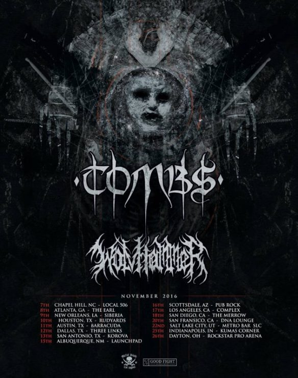 Tombs and Wolvhammer tour ghostcultmag