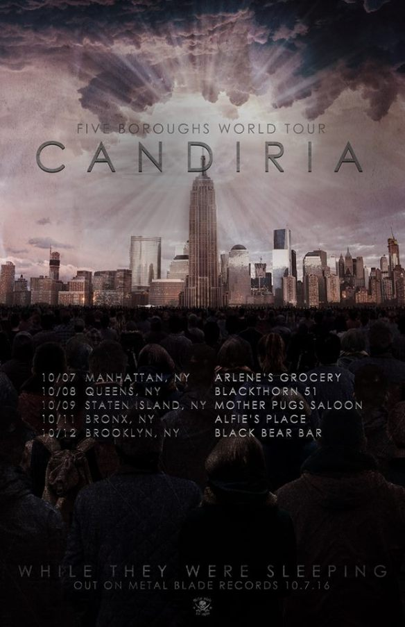 Candiria New York Tour
