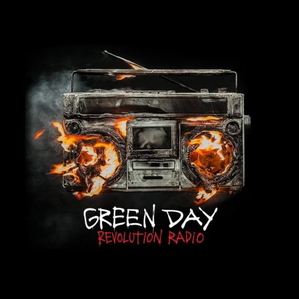 Green Day Revolution Radio cover ghostcultmag
