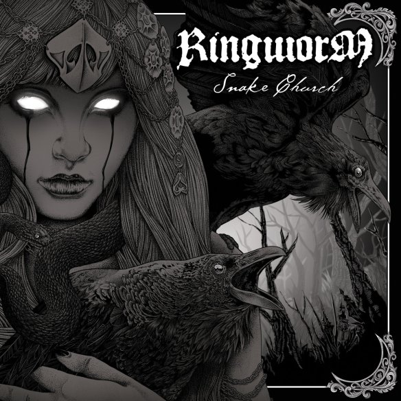 Ringworm – Snake Church cover ghostcultmag