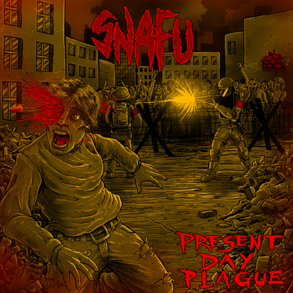 SNAFU Present Day Plague cover ghostcultmag