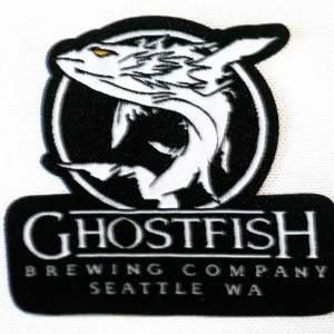 Ghostfish Brewing Logo Patch