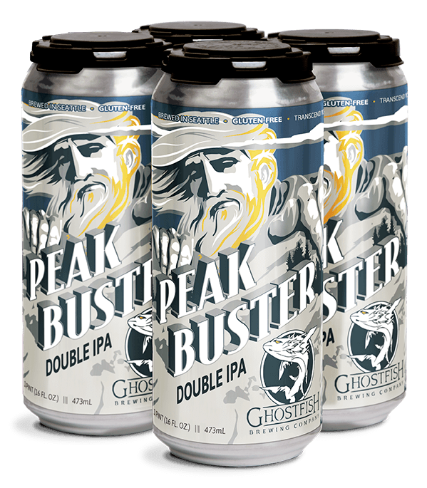 Gluten Free Double IPA 16oz Cans
