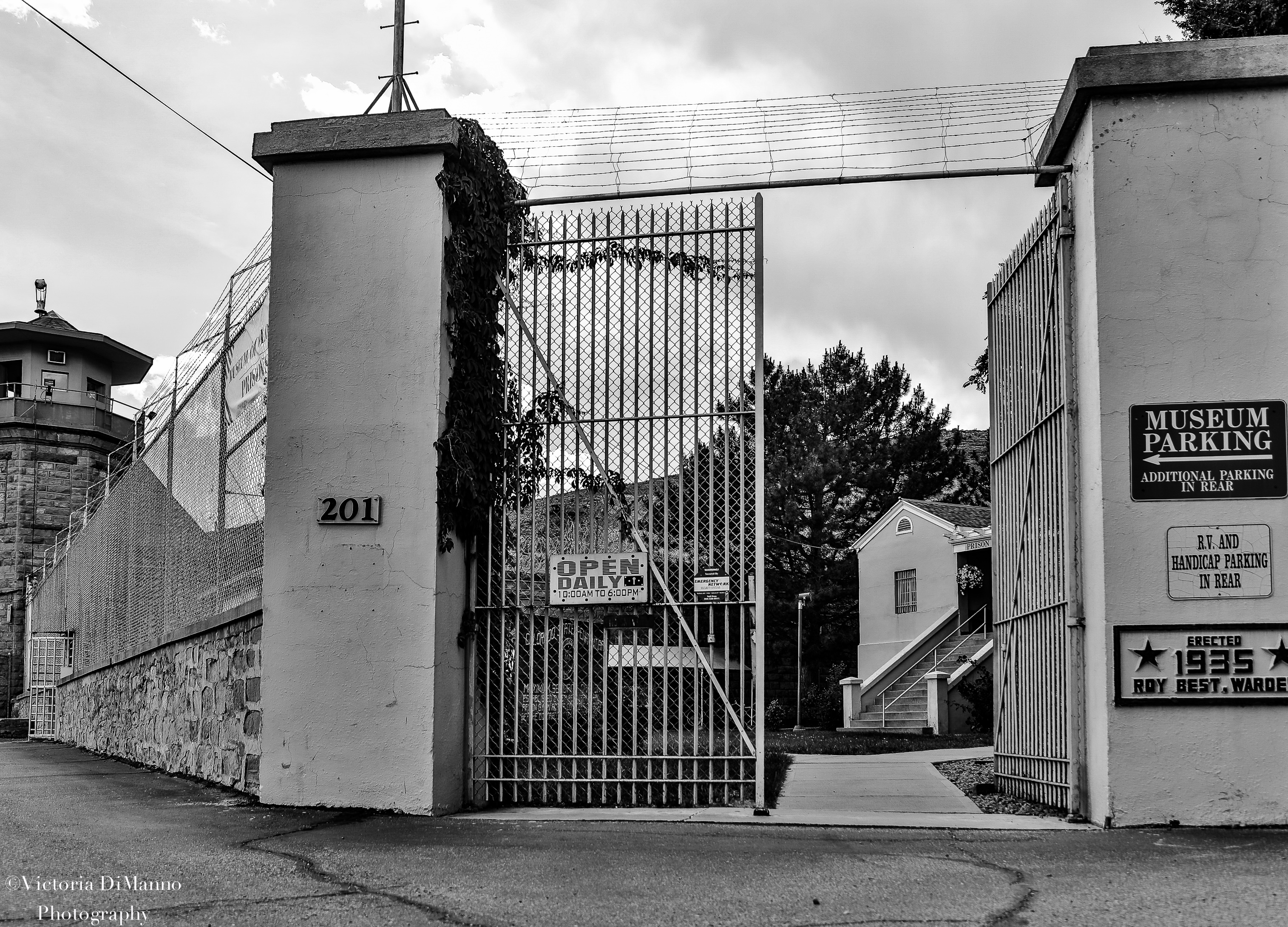 Colorado Prison Museum jail gates
