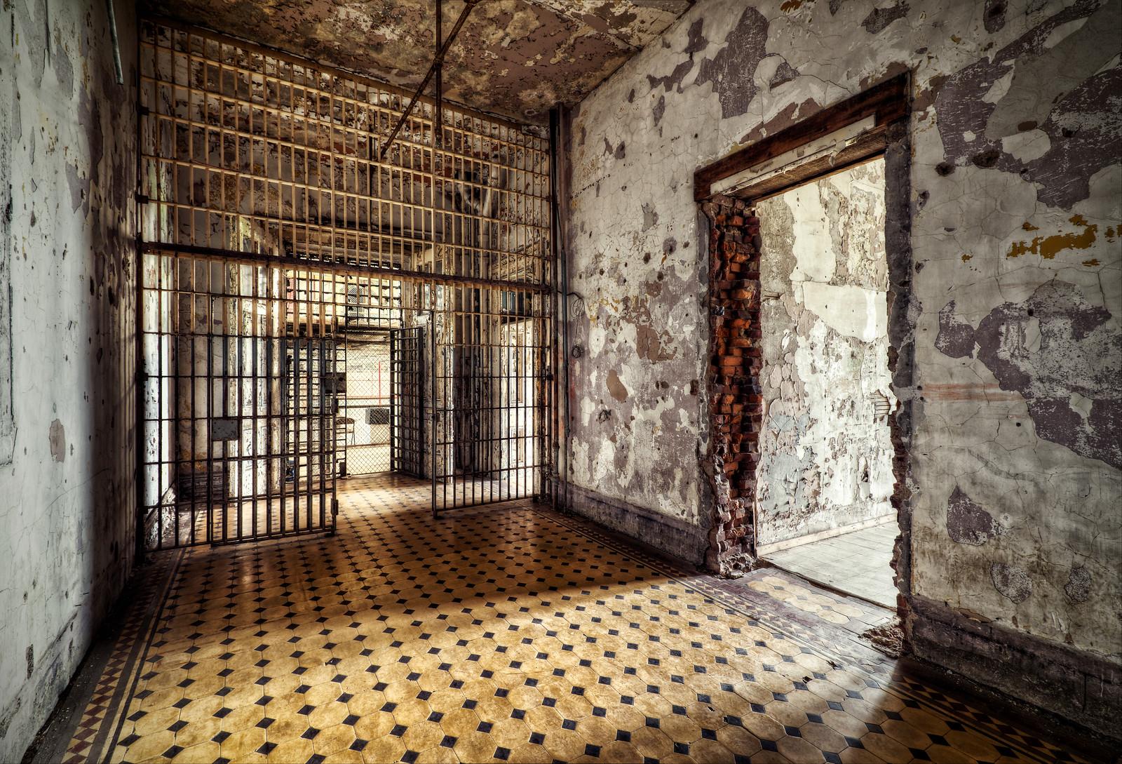 West Virginia Penitentiary Corridor