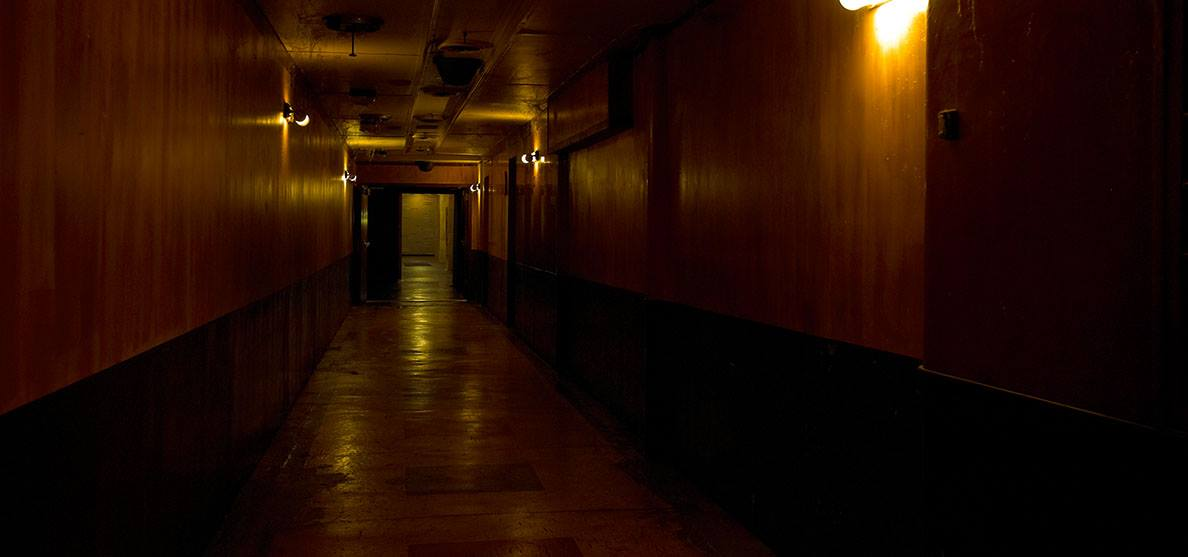 Queen Mary Haunted Tunnel