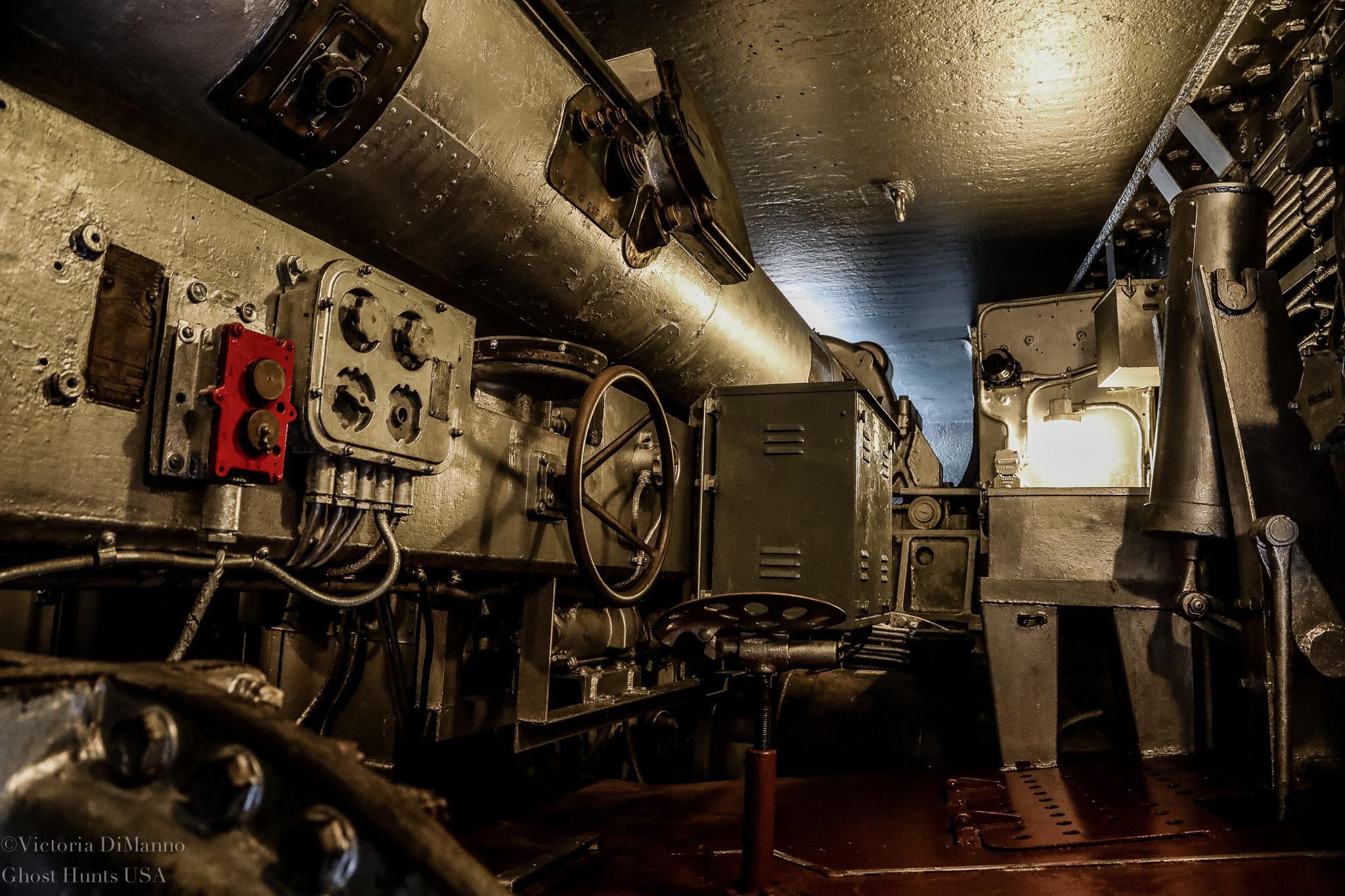 USS Battleship NC Gun Room