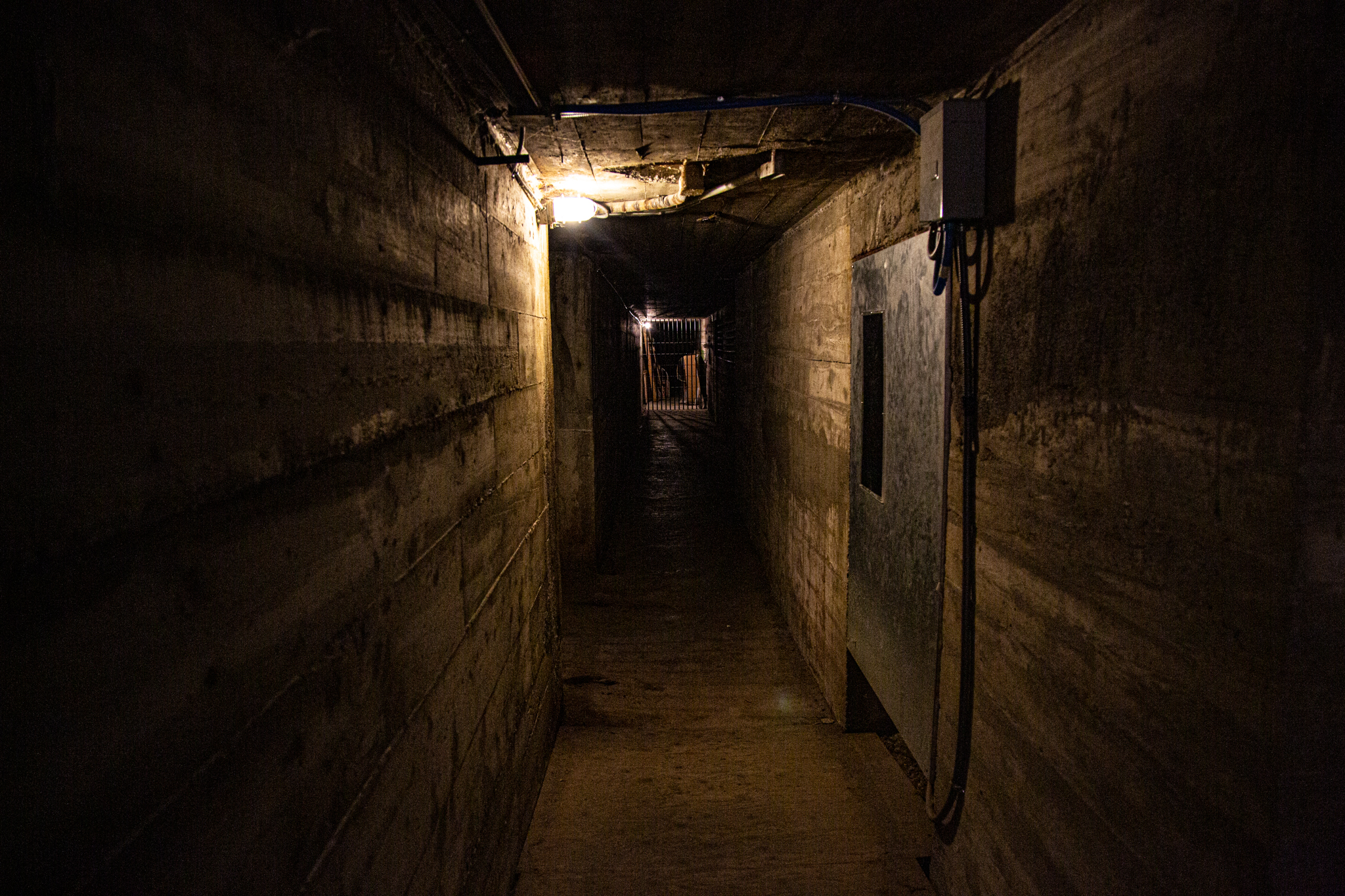Old Montana Prison Ghost Hunt Tunnel