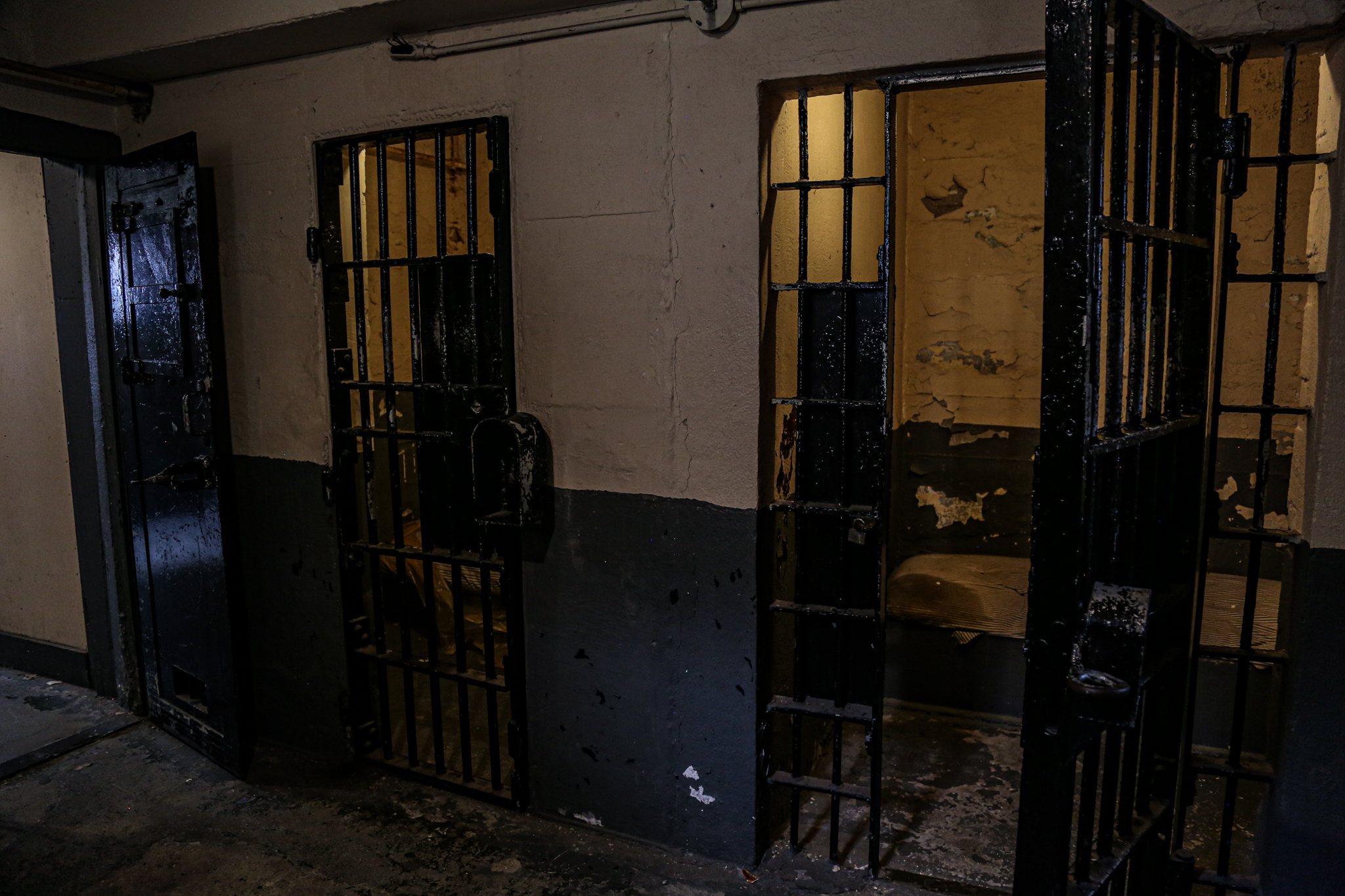 Haunted Jail Cells Old Montana Prison