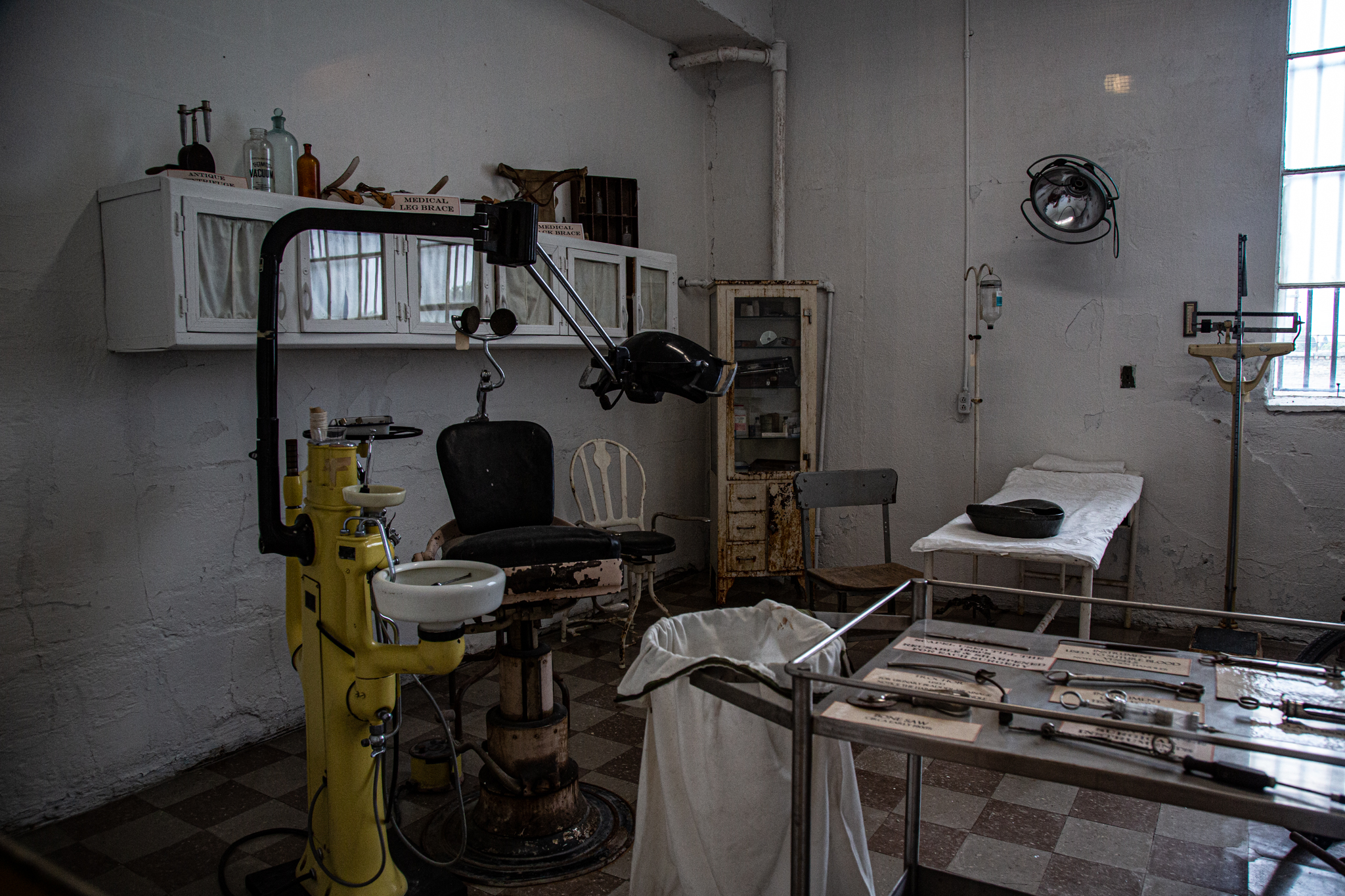 Old Montana Prison Ghost Hunt Operating Room