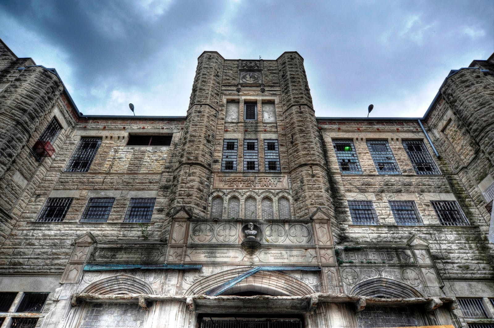 Missouri State Penitentiary Ghost Hunt  Jefferson City, Missouri  Friday September 17th 2021