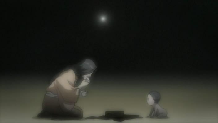 shigurui 05 seigen mother and child mother eats cakes