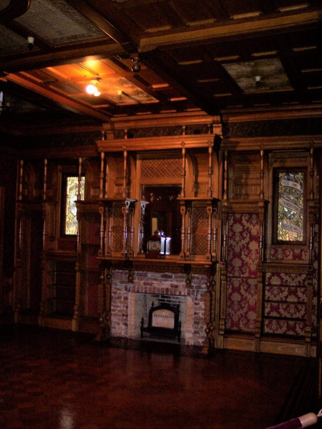 Inside Winchester House Chimney Photo Credit: Patrick Harrington