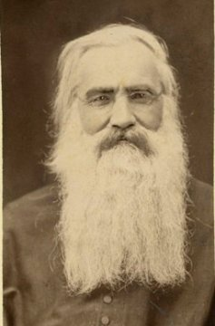 GCSC 4/30:  Portrait of Rev. Edward Sorin, CSC, c1880s.