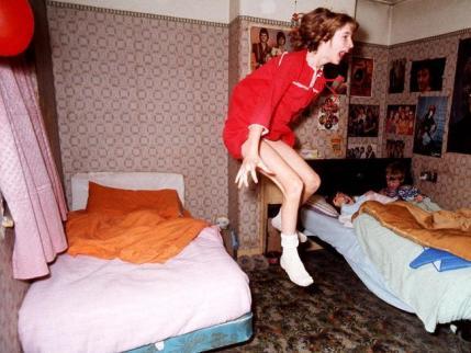 Archival still from 'The Happenings' Enfield, UK 1977GRAHAM MORRIS