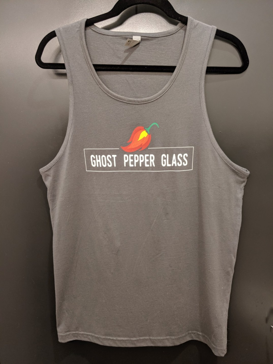 Men's GPG Grey Logo Tank