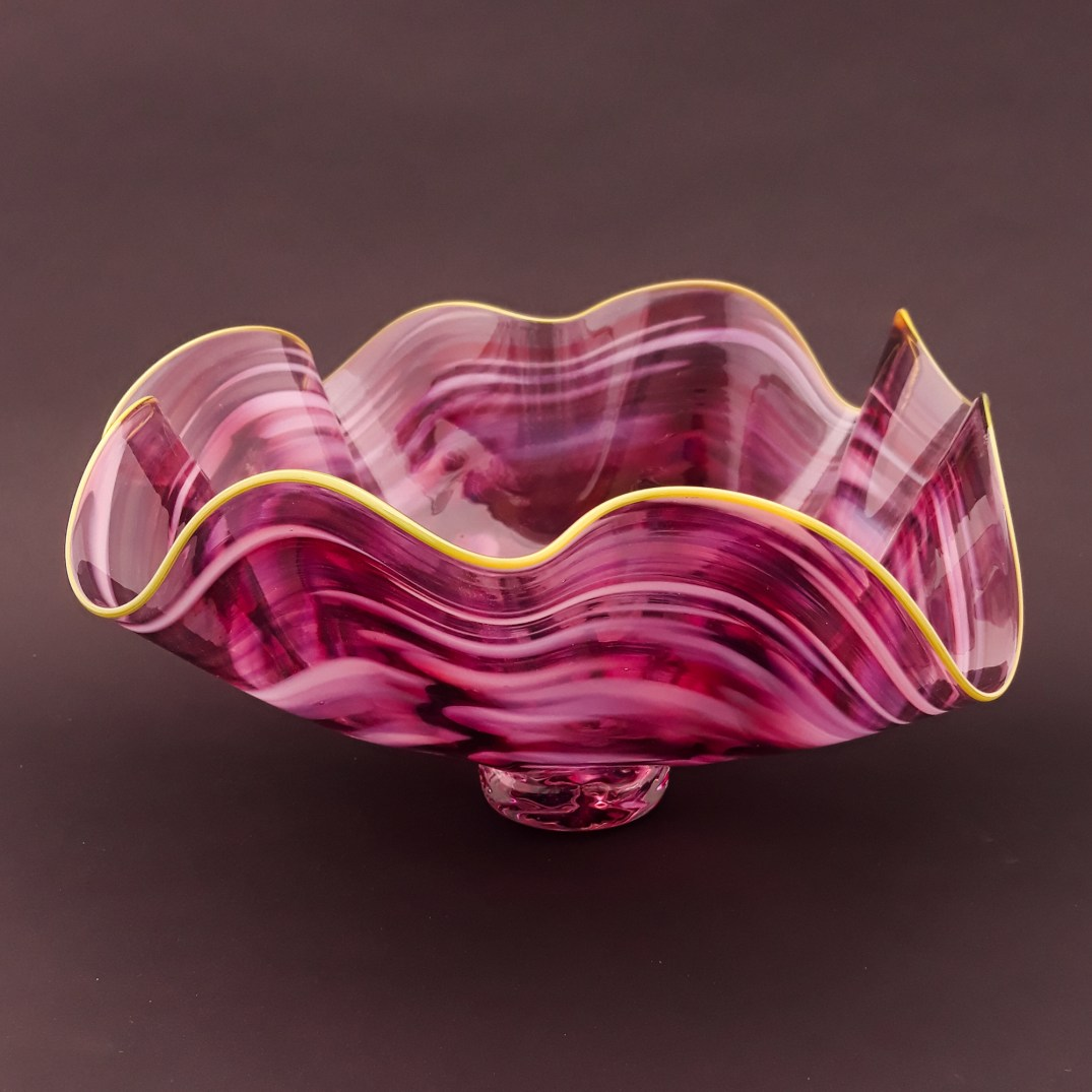 Fluted Jewel Platter