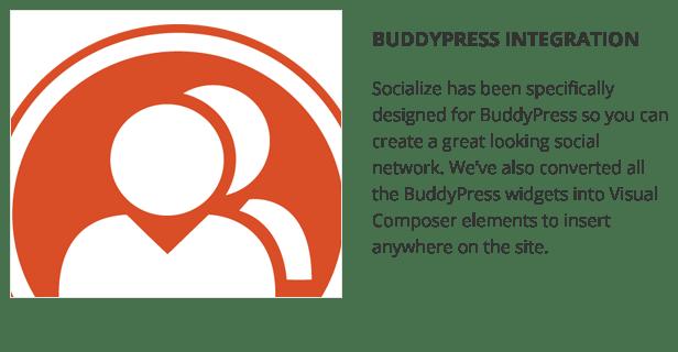Socialize: Multi-Purpose BuddyPress Theme 2