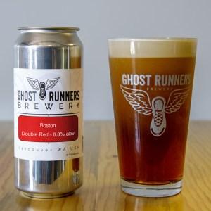 Ghost Runners Beer - Boston