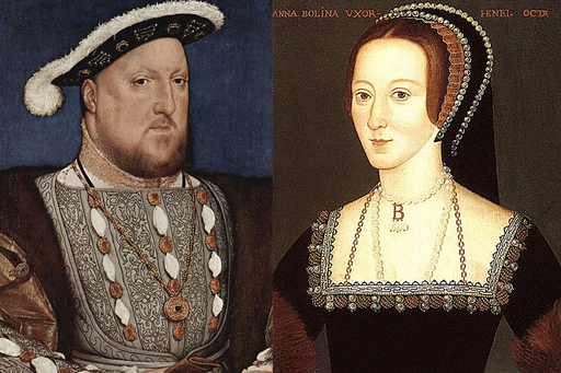 Henry VIII and Anne Boleyn Images